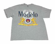 Modelo Cerveza Beer Lion Logo Men's T Shirt