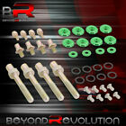 For B16 B18 B-series Valve Cover Washer Seal Bolt Nut Kit Racing Aluminum Green