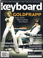 2006 Goldfrapp, YAMAHA Tyros2, HS80M, KAWAI MP8 Keyboard Magazine Reviews