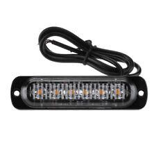 6LED Auto KFZ Frontblitzer Blitzlicht Warnleuchte LKW Strobe Licht 12-24V 8 Modi
