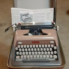 1960 Vintage ROYAL 800 Typewriter With Original Carrycase & Instruction guide