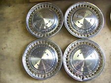 """1972 73 74 DODGE CHALLENGER HUBCAPS WHEEL COVERS 14"""" (4) CHARGER 75 76 DART"""