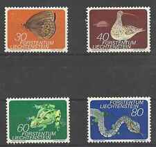 Timbres Animaux Liechtenstein 538/41 ** lot 4744