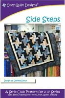 Side Steps quilt pattern by Cozy Quilt Designs