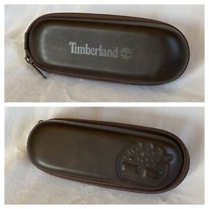 Timberland Faux Leather Torpedo Zip Med. Eyeglass Case, Sunglasses
