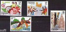 Spain  Edifil # 2783/2786 ** MNH Grandes Fiestas Populares españoles