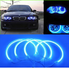 Hi-Power CCFL Angel Eye Halo Ring Blue For BMW E46 3-Series Coupe