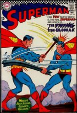 DC Comics SUPERMAN #196 The Thing From 40,000 A.D. FN+ 6.5