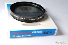 Used Quantaray C-PL 55mm Filter Circular Polarizer