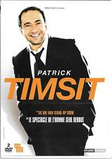 2 DVD ZONE 2--SPECTACLE--PATRICK TIMSIT--THE ONE MAN STAND UP SHOW