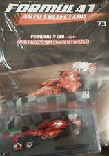 FORMULA 1 AUTO COLLECTION Ferrari F138 - 2013 FERNANDO ALONSO # 73 - 1/43 + BOOK