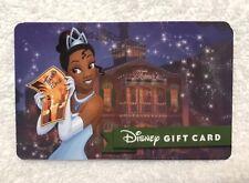 WALT DISNEY WORLD TIANA GIFT CARD, Disneyland