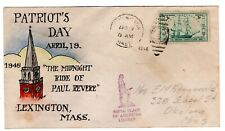 #951 on E.J. Henriques Hand Painted - Patriot's Day Paul Revere Lexington MA '48