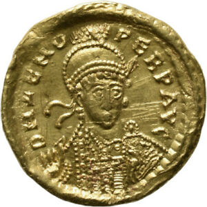 DIONYSOS Zeno AV-Solidus Constantinopel Victoria #ML 1548