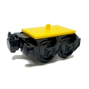 LEGO Train Parts Carriage Wagon Bogie Buffer Wheel Assembly 60197 60198 Gift