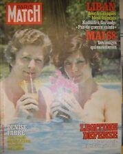 Paris Match N° 1511 12 mai 1978 Denise Fabre Liban Kadhafi Légitime défense