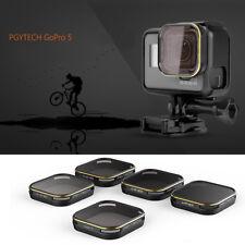 Hd Nd4/Nd8/Nd16/Nd32 Neutral Density Lens Filter 40mm for GoPro Hero 5 Camera