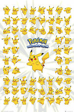 Pokemon Pikachu Pikachu's Maxi Poster Brand New official Free Post!