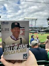 2019 Edgar Martinez Replica Hall of Fame Plaque, SGA, 8/10/19