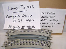 Lionel FasTrack 9pc of O31 Track Train