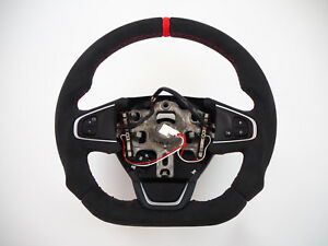 RENAULT Clio mk4 IV GT RS Flat bottom thickINCLUDE Steering Wheel Lenkrad Volant