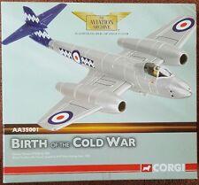 CORGI Aviation Gloster Meteor F.Mk.8 No 500 RAF West Malling Kent AA35001 NEW