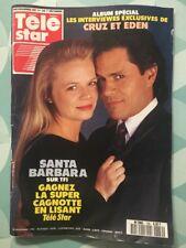 TELE STAR French n 739 Nov 1990 SANTA BARBARA Cruz et Eden Olivia NEWTON JOHN
