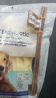 Virbac CET Enzymatic Oral Hygiene Chews for Large Dogs & Praire Dog Bully Stick
