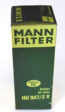 MANN-FILTER HU 947/2 X Ölfilter, NEU, OVP