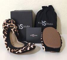 Yosi Samra Calf Hair Animal Print Ballet Flats Size US 6 (MSRP: )
