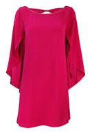 Jessica Simpson Women's Flutter Sleeve Textured Dress