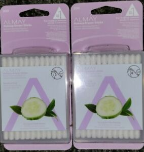 Almay🌟Lot of 2🌟Makeup Remover Sticks 24 Count Liquid Filled Swabs🌟Oil-Free