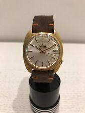 Reloj BULOVA ACCUTRON 18 Kt Gold Wrist Watch - Swiss Vintage 1970's Quartz