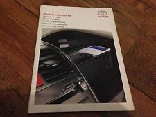 RARE TOYOTA IPOD USER OWNERS HANDBOOK MANUAL AVENSIS YARIS RAV4