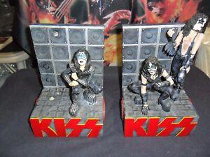 KISS BOOK ENDS !!! RARE 1999 !! OK CONDITION !!