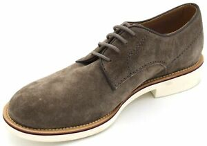 TOD'S MAN DERBY DRESS SHOES CLASSIC BUSINESS SUEDE CODE XXM0VU00C20RE0C407