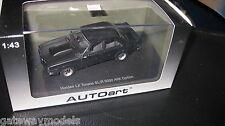 BIANTE HOLDEN TORANA LX SL/R 5000 A9X OPTION 4 DOOR TUXEDO BLACK 1.43 AUTOart