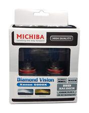 Michiba H9 12v 65w 5000K Diamond Vision Bulbs (White)