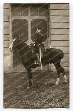 Foto Portrait berittener Polizist, Polizei Wien Interbellum 1930s (6254)