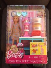 Dolls Barbie's Little Sister Stacie & Her Breakfast Playset Comes with Dough
