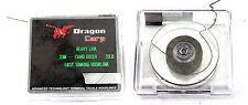 Dragon Leader Braid -20 M Camo green 20lb fast sinking hooklink carp fishing MN