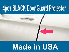 4PCS BLACK Door Edge Scratch Protector Guard Trim Molding For Lincoln 2003-2018