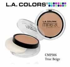 DUNSPEN  LA Colors Mineral Pressed Powder (True Beige)