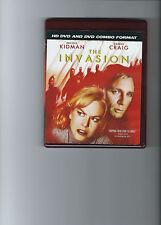 The Invasion (HD DVD, 2008, HD DVD/DVD Combo) DANIEL CRAIG,NICOLE KIDMAN