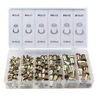 150-tlg. Stahl Nietmutter-Sortiment Box Blindnietmuttern Satz Einnietmuttern Set