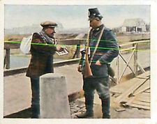 Traffic control Occupied Area Belgium Deutsches Heer WWI WELTKRIEG 14/18 CHROMO
