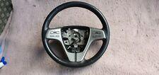 Mazda 6 2007-13 Black Leather Steering Wheel