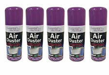 5 x 200ml Compressed Air Duster Cleaner Spray Can Protect Laptops Keyboard Mouse