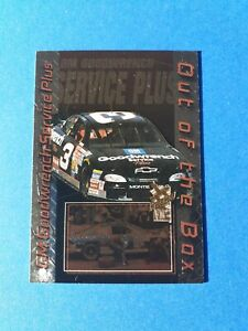 Dale Earnhardt Goodwrench Chevy #OB3 Out-of-the-Box Insert AWESOME NASCAR