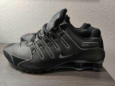 Nike Shox NZ SL - 366363 006 - Black / Flint Grey Men's Size: 12 Rare